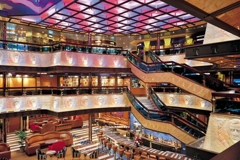 Carnival cruise valor interior